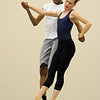 "Damien Patterson and Megan Coatney, Ballet Nouveau Colorado dancers, rehearse for the production of ""Carry On"" at the BNC studios.  The dance company will be performing to live music by Paper Bird.<br /> <br /> January 14, 2011<br /> staff photo/David R. Jennings"