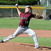 KC Lord, Silver Creek, pitches against Broomfield during Thursday's game at Broomfield High School.<br /> <br /> May 03, 2012 <br /> staff photo/ David R. Jennings
