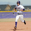Holy Family's Devlin Granberg runs to third base against Jefferson Academy during Saturday's game at Holy Family.<br /> March 24, 2012 <br /> staff photo/ David R. Jennings