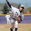 Holy Family's pitcher Louis Simpson throws against Jefferson Academy during Saturday's game at Holy Family.<br /> March 24, 2012 <br /> staff photo/ David R. Jennings