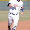 Legacy's Ty Overboe runs to 3rd base against Ralston Valley during Friday's game at Legacy.<br /> March 23, 2012 <br /> staff photo/ David R. Jennings