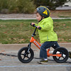Oliver Wear, 2 1/2, rides his scooter during the Bicycle Skills  Course sponsored by the Children's Health Advocacy Institute in the Bay Aquatic Park parking lot on Saturday.<br /> October 13, 2012<br /> staff photo/ David R. Jennings