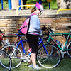 "Hailee Damp prepares to continue her commute to MWH after making a stop at the breakfast station at East Park during Bike to Work Day on Wednesday.<br /> <br /> <br /> June27, 2012<br /> staff photo/ David R. Jennings<br /> <br /> for more photos and video please go to  <a href=""http://www.broomfieldenterprise.com"">http://www.broomfieldenterprise.com</a>"