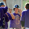 "Tommy Baumgartner of Boulder celebrates runs scored against Rocky Mountain on Saturday.<br /> For  more photos of the game, go to  <a href=""http://www.dailycamera.com"">http://www.dailycamera.com</a>.<br /> Cliff Grassmick  / August 4, 2012"
