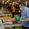 """Doctor"" Robert Crowe at Friday's Bowling for Breast Cancer fundraiser at Chipper Lanes in Broomfield.<br /> October 30, 2009<br /> Staff /Dylan Otto Krider"
