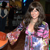 Vampiress Donna Rosen at Friday's Bowling for Breast Cancer fundraiser at Chipper Lanes in Broomfield.<br /> October 30, 2009<br /> Staff /Dylan Otto Krider