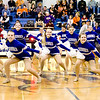 Broomfield High Pom Squad performs at halftime