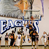 Justin Smith of Lewis Palmer goes up for a shot against the Eagle defense during Friday's game against Lewis Palmer.<br /> <br /> <br /> December 2, 2011<br /> photo by Matt Kelley