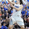 Broomfield's Nick Ongarato goes up for a basket against Widefield during Friday's state playoff game at Broomfield.<br /> February 24, 2012 <br /> staff photo/ David R. Jennings