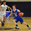 Broomfield's Evan Kihn dribbles the ball downcourt against Silver Creek during Friday's game at Silver Creek High.<br /> January 11, 2013<br /> staff photo/ David R. Jennings