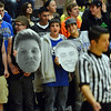 Broomfield fans hold photos of players during Friday's game against Silver Creek at Silver Creek High.<br /> January 11, 2013<br /> staff photo/ David R. Jennings