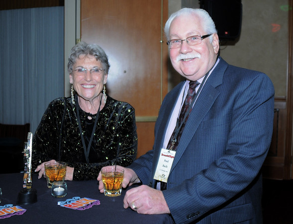 The Baches at the Broomfield Chamber of Commerce annual dinner at the Renaissance Boulder Flatiron Hotel on Thursday.<br /> <br /> January 27, 2011<br /> staff photo/David R. Jennings