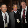 Chuck Morris, center, poses with Charles Ozaki, left, and George DiCiero during the Broomfield Chamber of Commerce annual dinner at the Renaissance Boulder Flatiron Hotel on Thursday.<br /> <br /> January 27, 2011<br /> staff photo/David R. Jennings