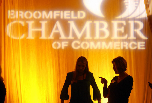 The Broomfield Chamber of Commerce annual dinner at the Renaissance Boulder Suites Hotel on Friday.<br />  <br /> January 22, 2010<br /> Staff photo/David R. Jennings