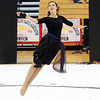 Julie Brandenburg dances during Broomfield High's Color Guard performance at the Rocky Mountain Color Guard Assoc. State competition at Legacy High School on Saturday.<br /> <br /> March 27, 2010<br /> Staff photo/David R. Jennings