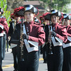 Horison High Band memeber Alley Wagner, center, marches during the parade at Broomfield Days at Midway Park on Saturday.<br /> <br /> Sept. 19, 2009<br /> Staff photo/David R. Jennings