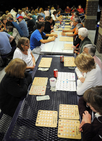 People play bingo at Broomfield Days on Friday.<br /> <br /> September 17, 2010<br /> staff photo/David R. Jennings