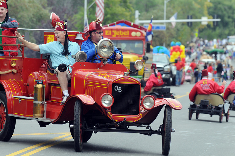 The El Jebel Shrine entry in the parade at Broomfield Days on Saturday.<br /> <br /> September 18, 2010<br /> staff photo/David R. Jennings