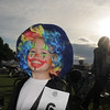 Alexander Johnson, 3, was all smiles as the sun rose over the Optimist Clown Contest during Broomfield Days at Midway park on Saturday.<br /> September 17, 2011<br /> staff photo/ David R. Jennings