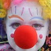 Zoie Svensk, 8, entered the Optimist Clown Contest during Broomfield Days at Midway Park on Saturday.<br /> September 17, 2011<br /> staff photo/ David R. Jennings