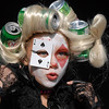 Shannon Ireland, 11, dressed a Lady Gaga for the Optimist Clown Contest  during Broomfield Days at Midway Park on Saturday.<br /> September 17, 2011<br /> staff photo/ David R. Jennings