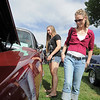 Tracie Mathisen, right, and her daughter Dale, 16, look at cars in the Rock'n Cool Classic Car Show during Broomfield Days at Midway Park on Saturday.<br /> September 17, 2011<br /> staff photo/ David R. Jennings