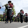 Horizon High Marching Band during the Optimist Parade Broomfield Days on Saturday.<br /> September 17, 2011<br /> staff photo/ David R. Jennings