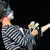 Kevin Peacock, 10, was a mime clown in the Optimist Clown Contest at Broomfield Days.<br /> September 15, 2012<br /> staff photo/ David R. Jennings