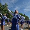 Broomfield High Cheerleader Taylor Evans performs during the parade at Broomfield Days.<br /> September 15, 2012<br /> staff photo/ David R. Jennings
