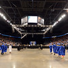 Graduates march in to the 1stBank Centerfor Saturday's Broomfield High School Commencement .<br /> <br /> May 19, 2012 <br /> staff photo/ David R. Jennings