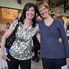 Michele Gerbrandt, left, and Nancy Prins at the  Broomfield High School Sports Gala on Friday at the Church Ranch Events Center. <br /> March 18, 2011<br />  staff photo/David R. Jennings