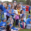 Fans watch the Broomfield poms perform a dance at the tailgate party before Friday's game against Monarch.<br /> September 16, 2011<br /> staff photo/ David R. Jennings