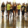 Blue Crew leaders give a tour to freshman during orientation at Broomfield High School on Monday.<br /> <br /> August 15, 2011<br /> staff photo/ David R. Jennings