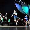 The male chorus sing and dance during rehearsal for Broomfield High's production of Carousel on Monday.<br /> <br /> <br /> April 9, 2012 <br /> staff photo/ David R. Jennings