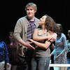 Kyle Holter dances with Saleena Normanleier during rehearsal for Broomfield High's production of Carousel on Monday.<br /> <br /> <br /> April 9, 2012 <br /> staff photo/ David R. Jennings