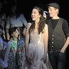 Rachel Kois, left, walks with Liam Broadhurst during rehearsal of Broomfield High's production of Carousel on Monday.<br /> <br /> <br /> April 9, 2012 <br /> staff photo/ David R. Jennings