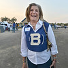 Kathi Stork class of 1964 wore her  cheerleader top for Friday's Broomfield High homecoming game at Elizabeth Kennedy Stadium.<br /> September 21, 2012<br /> staff photo/ David R. Jennings