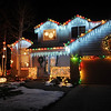 The holiday lighting display at 1232 Dover Court.<br /> <br /> December 13, 2009<br /> Staff photo/David R. Jennings