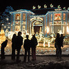 Visitors take in the spectical of the 13941 Tincup Circle holiday lighting display.<br /> <br /> December 13, 2009<br /> Staff photo/David R. Jennings