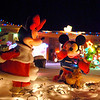 "Minnie Mouse and Mickey Mouse "" ice skate""  in the holiday display at 155 Hemlock St.<br /> <br /> December 12, 2009<br /> Staff photo/David R. Jennings"