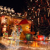 The holiday display at 1188 Clubhouse Drive.<br /> <br /> December 13, 2009<br /> Staff photo/David R. Jennings