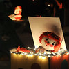 A clown pops out of a box in the lighting display at 155 Hemlock St.<br /> <br /> December 13, 2009<br /> Staff photo/David R. Jennings