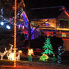 Holiday displays on houses along Dover Court .<br /> <br /> December 13, 2009<br /> Staff photo/David R. Jennings