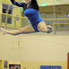 Allie Burgess, Broomfield, performs on the beam during competition at the Paul Derda Recreation Center in Broomfield on Tuesday.<br /> September 13, 2011<br /> staff photo/ David R. Jennings
