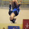 Broomfield's Gabby Maiden performs on the beam during competition at the Paul Derda Recreation Center in Broomfield on Tuesday.<br /> September 13, 2011<br /> staff photo/ David R. Jennings