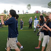 Members of the Legacy marching band lead the teams around the course on Friday at the 10th Relay for Life Broomfield fundraiser for the American Cancer Society at the Broomfield County Commons.<br /> <br /> <br /> June11, 2010<br /> Staff photo/David R. Jennings