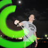 Dylan Johnston, 19, twirls glow sticks during the Broomfield Relay for Life at Holy Family High School on Saturday.<br /> June 10, 2011<br /> staff photo/David R. Jennings