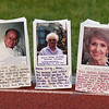 Decorated luminarias honoring cancer victims line the track at the Broomfield Relay for Life at Holy Family High School on Saturday.<br /> June 10, 2011<br /> staff photo/David R. Jennings