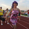 Brent Buck dressed in drag won the Mr. Relay contest during Friday's Broomfield Relay For Life at Holy Family High School.<br /> June 8, 2012 <br /> staff photo/ David R. Jennings