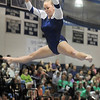 Allie Burgess, Broomfield, performs her routine on the beam during the state 5A gymnastics meet at Thornton High School on Friday.<br /> <br /> <br /> November 4, 2011<br /> staff photo/ David R. Jennings